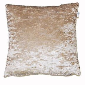 "Lustre Luxury Crushed Velvet Cushion Cover/s 18""(45cm)7 gorgeous colours FREE POSTAGE"